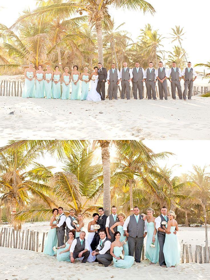 calgary wedding photographer, destination wedding photographer, hard rock punta cana wedding, calgary wedding photographers, wedding party pose