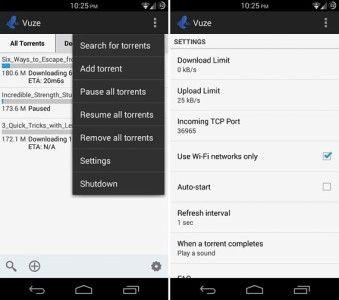 Vuze Torrent Downloader es una aplicación Android que puedes descargar completamente gratis, misma que cuenta con una interfaz amigable y a la cual, le dedicaremos algo de tiempo para analizar los pros y contras con los que nos podríamos encontrar a la hora de descargar este tipo de archivos Torrents.