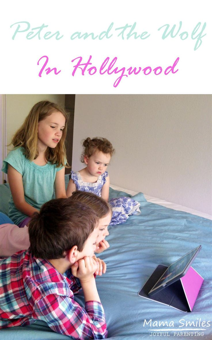 Here's a fun way to introduce kids to one of the world's best-known pieces of classical music! Peter and the Wolf in Hollywood takes your classic Peter and the Wolf tale and twists it into a modern tale. Peter has left Russia and is now living with his hippy grandfather in Los Angeles. Sponsored post. #PeterandtheWolfApp