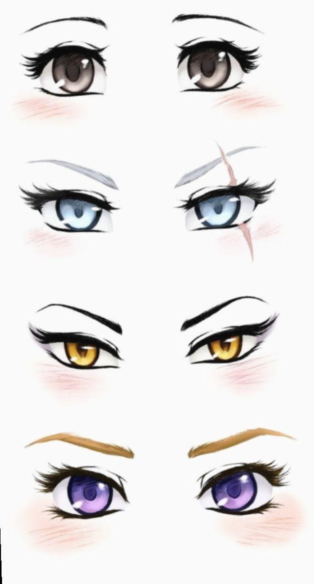 Cute Art Styles Eyes Aderitacristina Miniensaio Miniensaiodiadascriancas Anime Eyes Manga Drawing Eye Drawing
