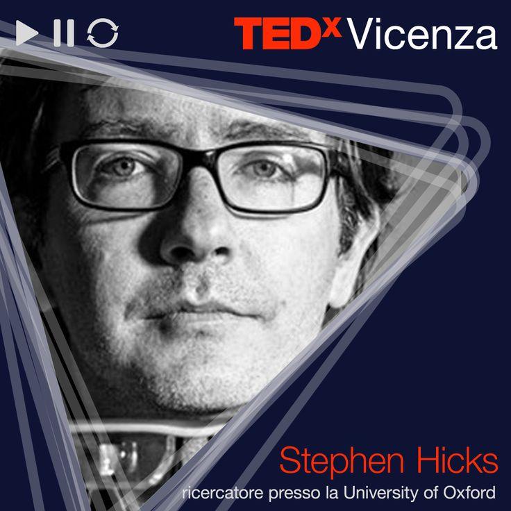 """Stephen Hicks / Ricercatore presso l'Università di Oxford > """"Un nuovo modo di vedere  #TEDxVicenza #tedx #speaker"""