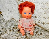 Strawberry Shortcake Kenner Doll, Darling  Berry Baby Strawberry Shortcake Kenner, Small Baby Doll, Vintage Baby Doll,  :)s*