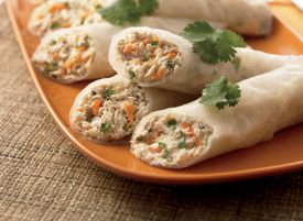 Tuna Rice-Paper Wraps