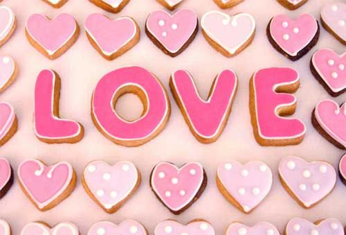 Favours, Bitesize LOVE cookies!