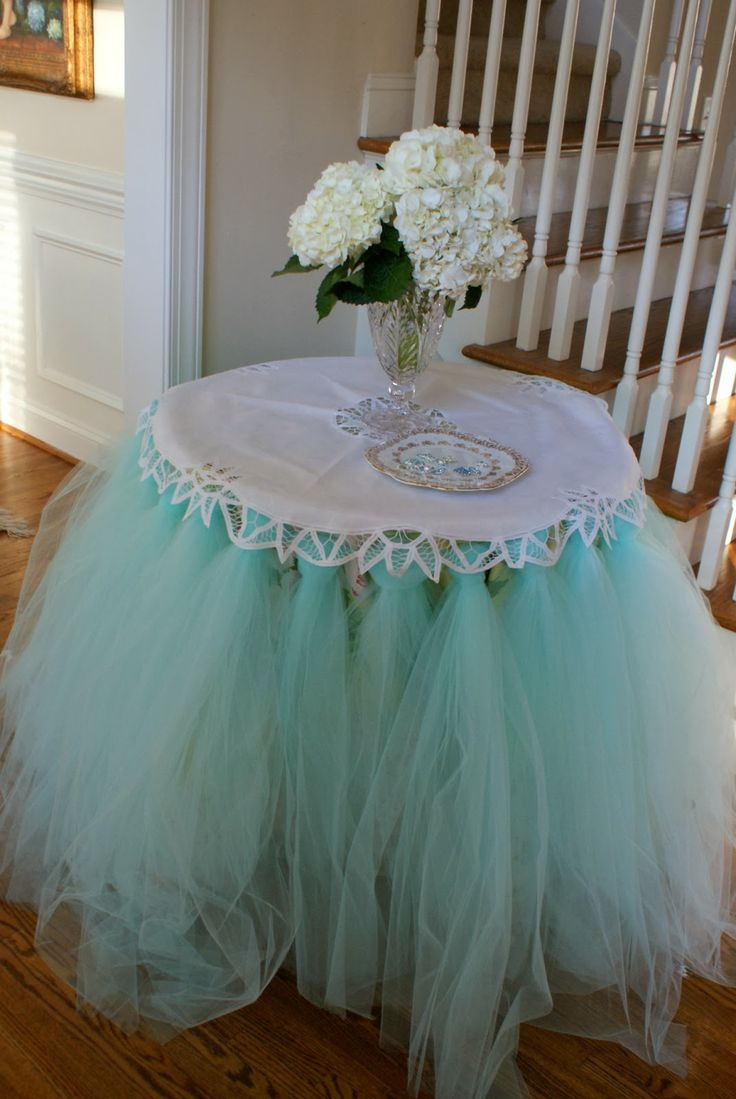 A Little Loveliness ~ Breakfast at Tiffany's Birthday party.  So girly.