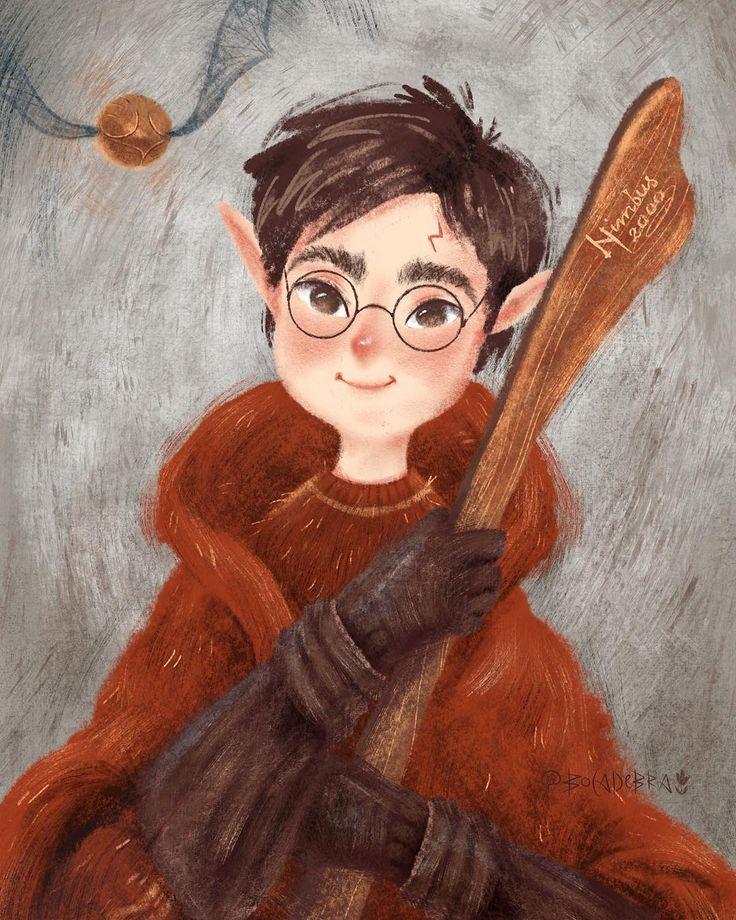 Гарри поттер арты картинки и рисунки