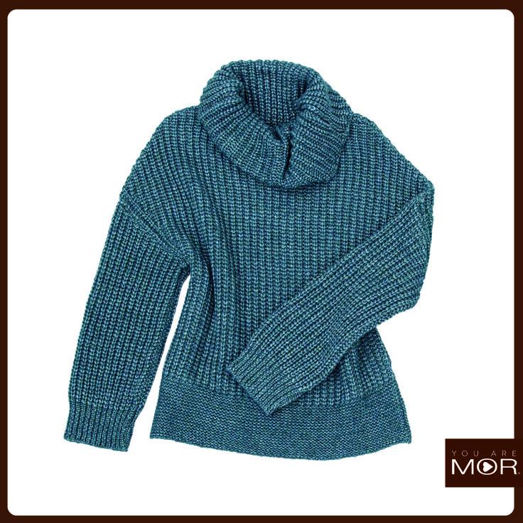 Sweater tejido grueso verde Cód. 42179 / Precio $36,990 *Hecho en España