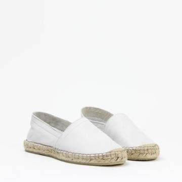 Amo Store ESPA Slip-On Espadrille White Leather