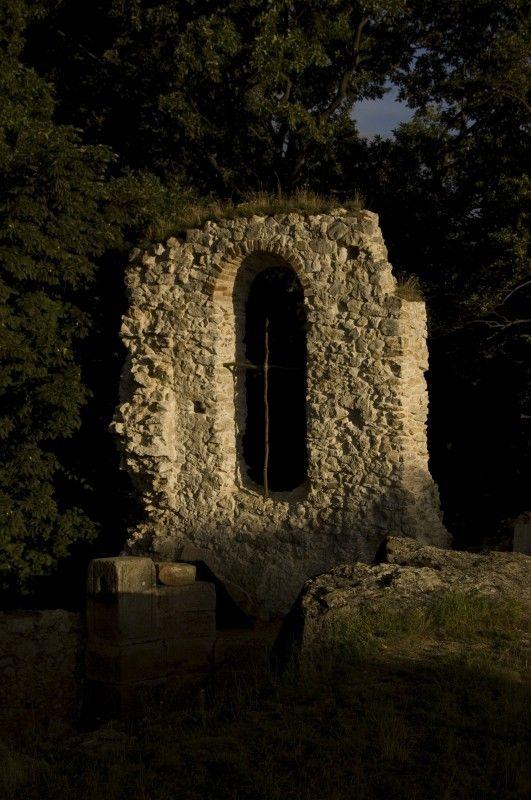 ruins of altar  (Katarínka, Slovakia)