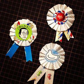 マスキングテープで簡単に作れる「ロゼット飾りリボン徽章」が可愛い!【作り方】 - NAVER まとめ