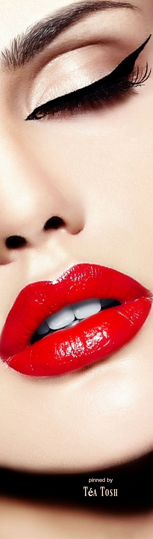 Wedding Makeup Tutorial Red Lips : Best 25+ Perfect red lips ideas on Pinterest