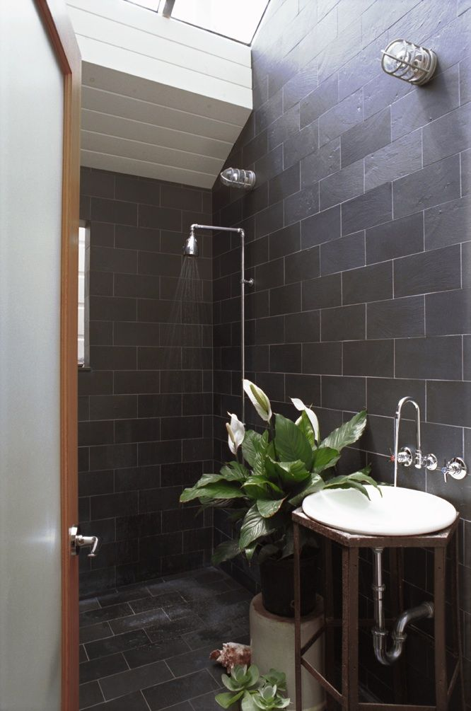 black slate bathroom floor 98 best images about bath vintage on deco 17415