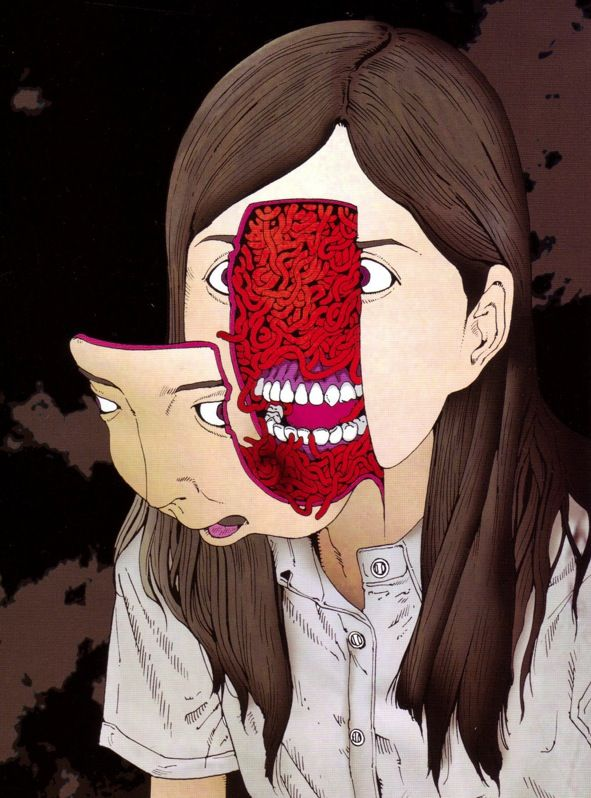 red-lipstick: Shintaro Kago (Japanese, b. 1969,...: