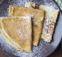 Recette - Crêpes légères sans gluten et sans lait de vache - Notée 4/5 par les internautes