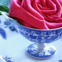 Rosa de Guardanapo