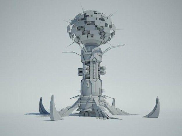 futuristic military building - Поиск в Google