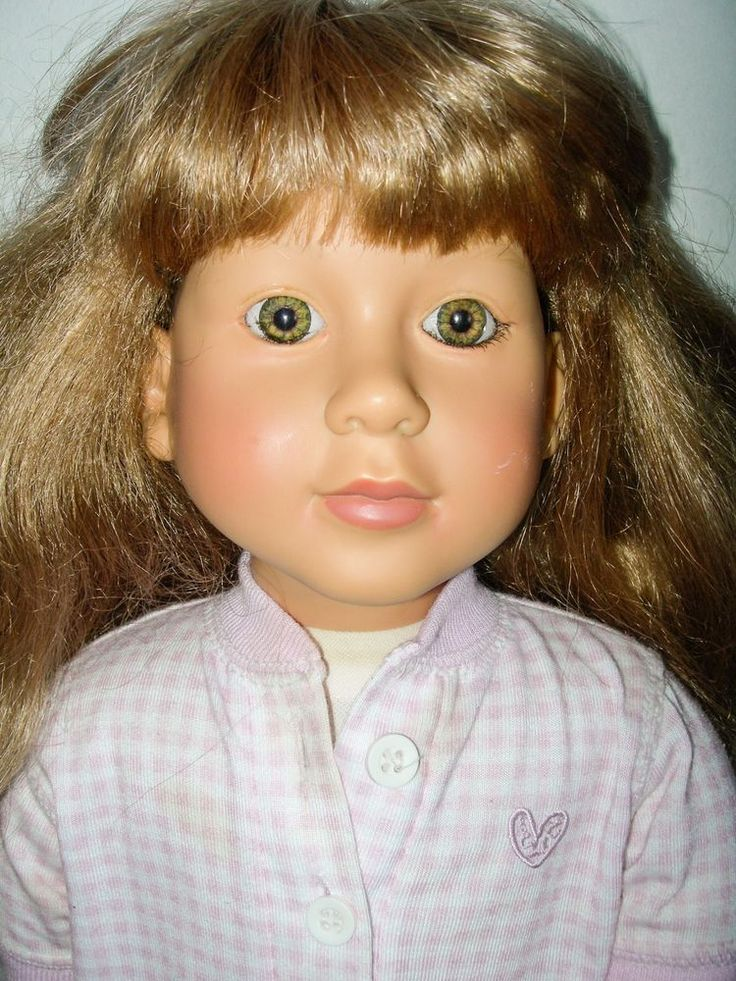 "My Twinn Doll White Body Blonde Green Eyes Poseable 23"" Vincent J DeFilippo TLC…"