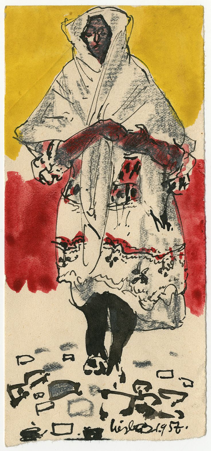 Josef Liesler: Žena z Čičmian, 1957
