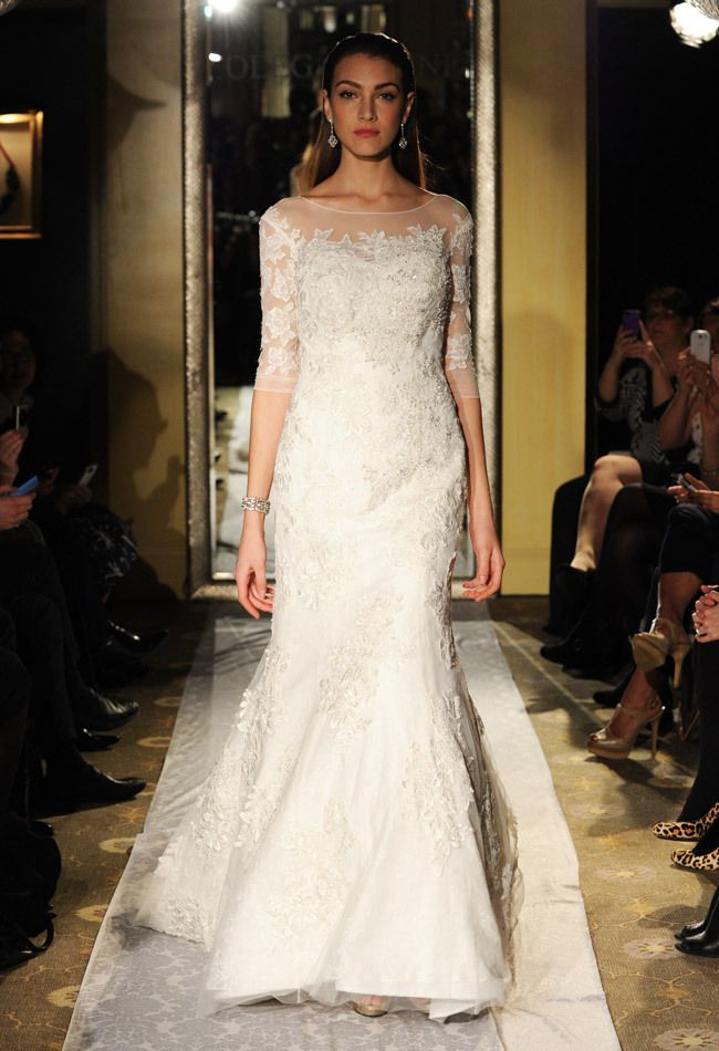 Oleg cassini fall 2014 wedding dresses heart my wedding for Wedding dress designer oleg cassini