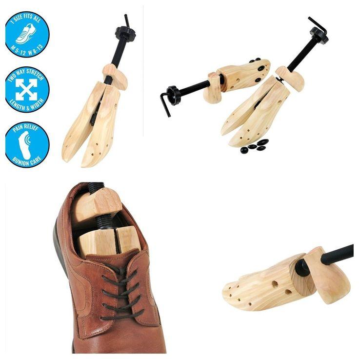 Shoe Stretcher Expander for Shoes Pair Women Men Medium Anti Calluses & Blisters #Plixio #bunionsortightnessinthetoeorheal