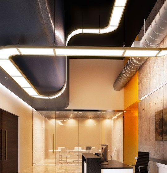 Flex Design Lighting Fixture by 3M. Thin film LED.