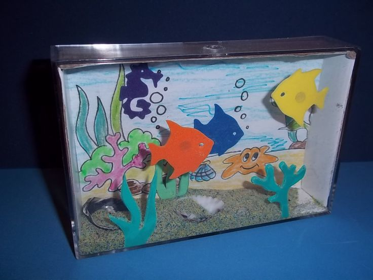 10 best under the sea images on pinterest crafts for for Fish tanks for kids