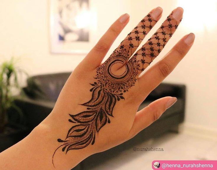"1,011 Beğenme, 1 Yorum - Instagram'da imehndi.com (@imehndicom): ""Who like henna on fingers?  artist :@henna_nurahshenna #repost #mehndi #mehndiart #mehndidesign…"""