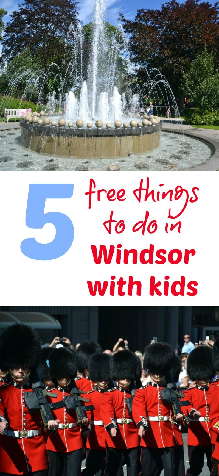 Fans of the British Royal Family will love a day out in Windsor, but it needed cost the crown jewels. Here's five free things to do in Windsor with kids and where to splash the cash if you're feeling flush