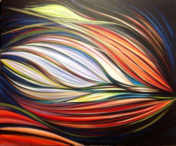 Acrilico su Tela Alta  L' Essenziale' di Anna Rita di AriArtStudio
