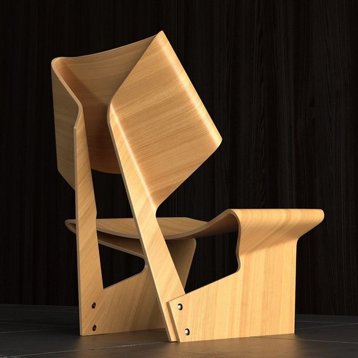 Origami chair by Grete Juel Jalk – Ovalme