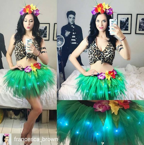 deluxe light up katy perry ROAR costume #roar eye of the tiger made by www.tutufactory.co.uk