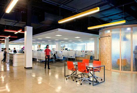 AOL Offices interior designed by Studio O+A