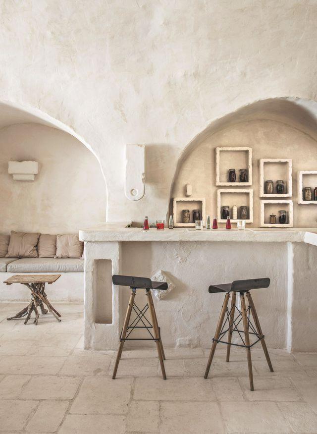 Une cuisine authentique dans un décor épuré