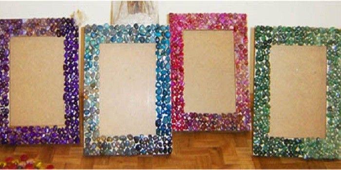 Como Hacer Portarretratos En Casa Cycomparte Manualidades Materiales Reciclados Como Hacer