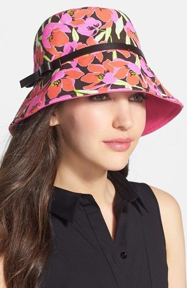 Kate Spade 'rio' Tropical Floral Bucket Hat