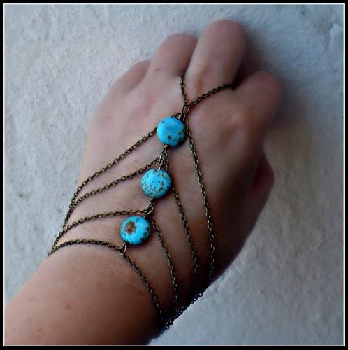 $28 awesome vintage hand jewlery: Ring Bracelet, Hands, Hand Jewlery, Hand Jewelry, Slave Bracelet, Awesome Vintage
