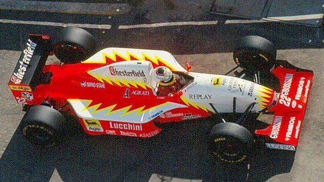Luca Badoer - Lola BMS Scuderia Italia - Lola T93 30 Ferrari gp_portugal_1993