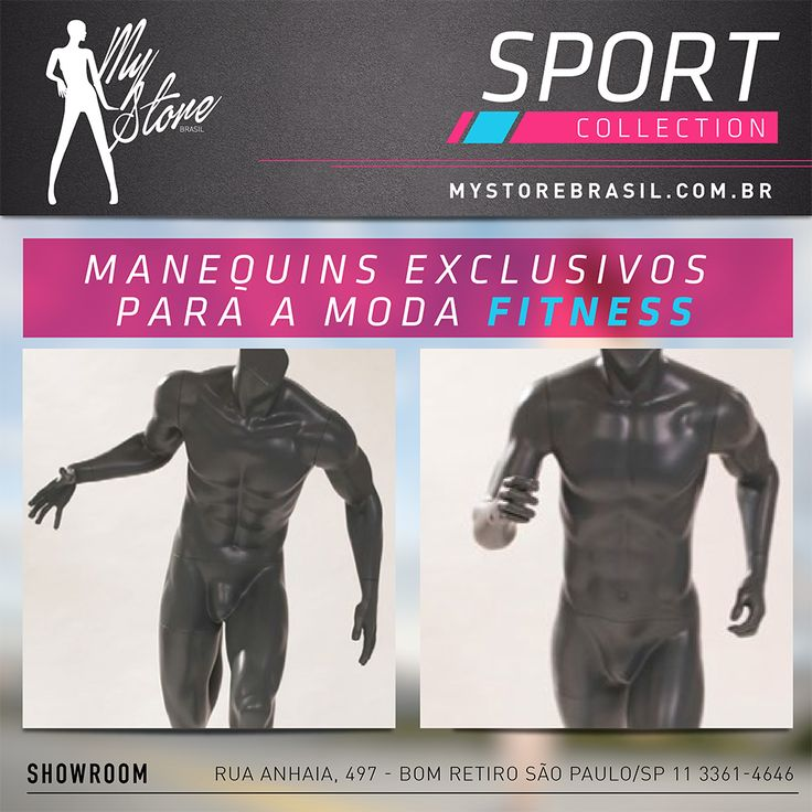 Nova linha Sport Collection - By My Store Brasil