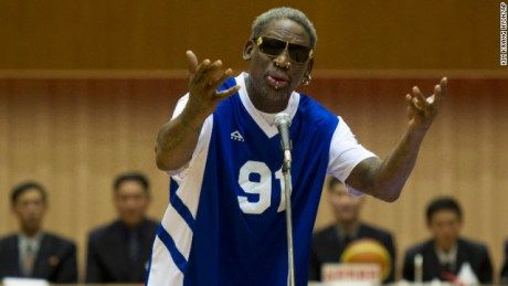 [Watch] Dennis Rodman Says That He Regrets His Trip To North Korea - http://getmybuzzup.com/wp-content/uploads/2014/03/263218-thumb.jpg- http://getmybuzzup.com/dennis-rodman-says-that-he-regrets-his-trip-to-north-korea/- By Mehka Former NBA star Dennis Rodman says that he is sorry for some of his antics while in North Korea for a basketball exhibition. Rodman appeared on ESPN today where he was brought to tears when talking about the negative reaction he received following hi