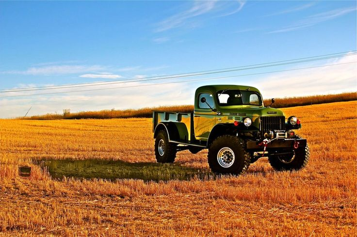 Something a little different....   Dodge Power Wagon by Legacy Classic Trucks