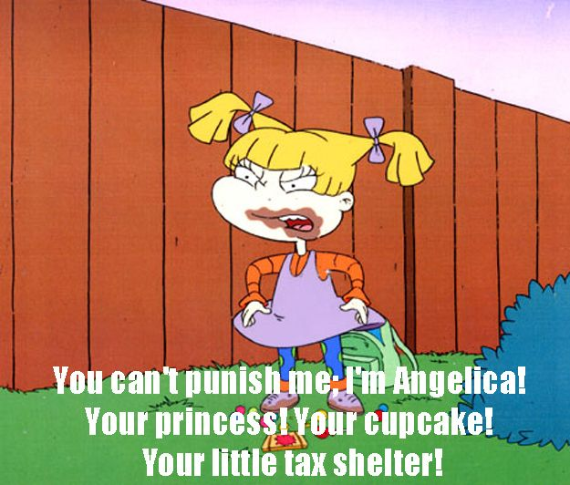 """The 18 Sassiest Things Ever Said By Angelica On """"Rugrats"""""""