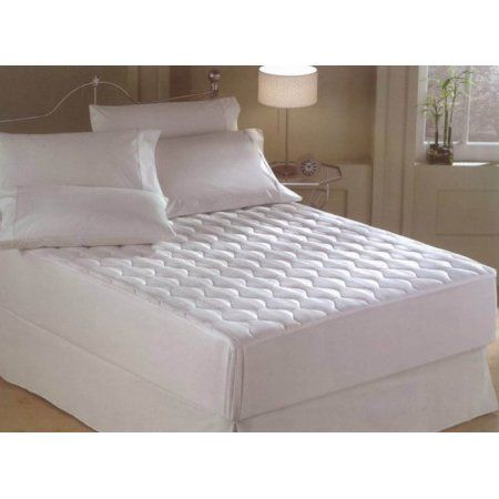 Terry Ii Water Resistant Mattress Protector, White