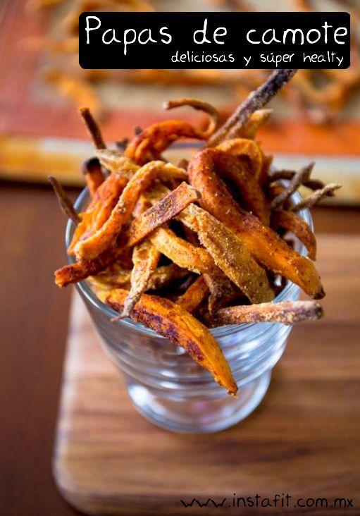 El acompañante perfecto para las hamburguesas vegetarianas. Mucho más healthy que las papas fritas comunes.