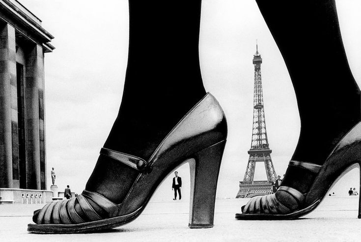Shoe and Eiffel Tower, for Stern 1974, Frank Horvat, courtesy of Taschen
