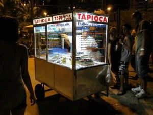 Street Food in Rio Tapioca | Rio de Janeiro Enjoy your journey to a colorful and diverse land. 'Like' us on facebook. https://www.facebook.com/AllThingsBrazil