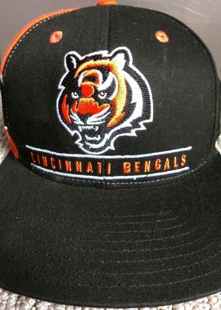 3c79fe0c Vintage Cincinnati Bengals NFL Team Apparel Reebok Snap Back Hat ...