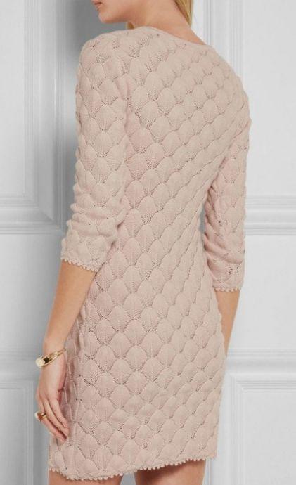 Шикарное платье: красивый узор,