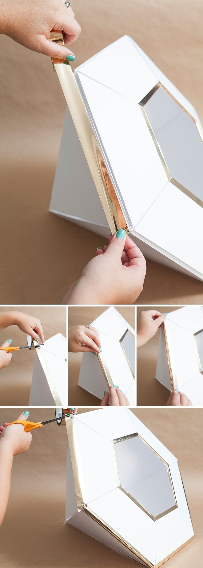 DIY, Giant Diamond Card Box For Weddings!