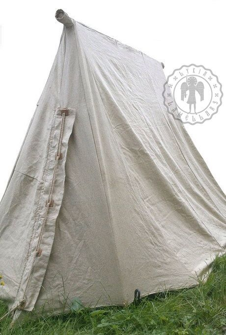 Historical tent, medieval. LINEN. by LykiaArmour on Etsy https://www.etsy.com/au/listing/258053603/historical-tent-medieval-linen