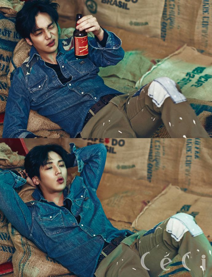 More Of Byun Yo Han For CéCi's April 2015 Issue